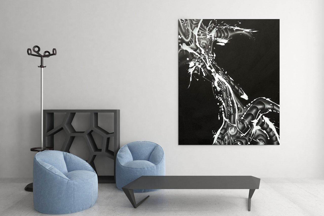 morphologica by wittbronsky acryl on canvas